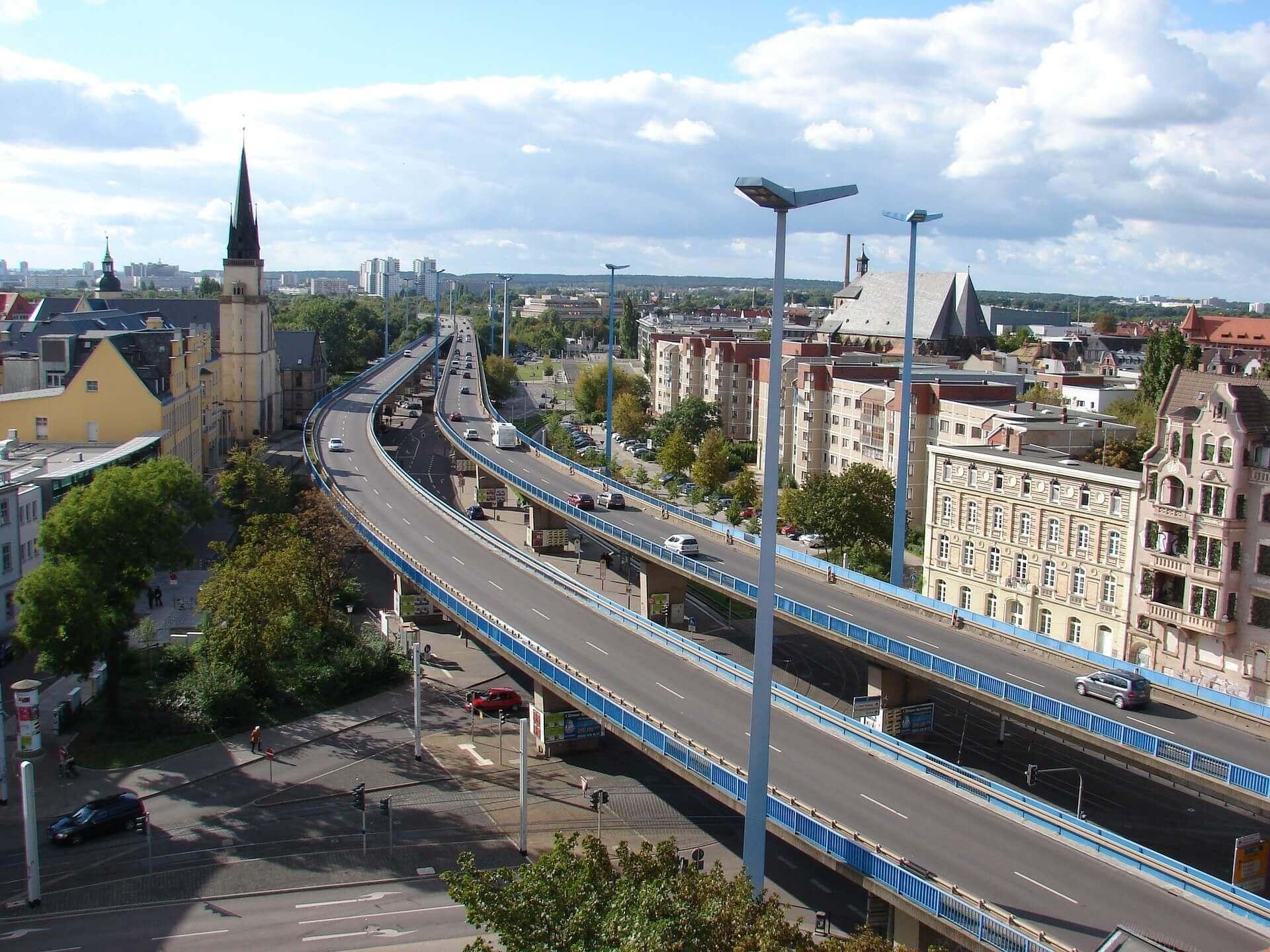 Autobahn Halle